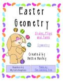 Easter Geometry - Slides, Flips, Turns - Symmetry - Math Center
