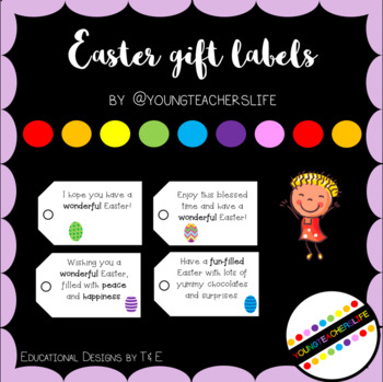 Easter Gift Label FREEBIE - Style 2