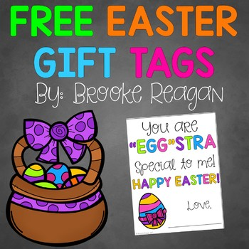 graphic about Printable Easter Gift Tags referred to as Easter Reward Tag Printables: Cost-free