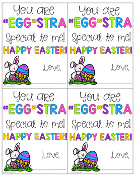 Easter Gift Tag Printables Free By Brooke Reagan Tpt