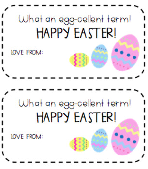Easter Gift Tags {4 options/types}