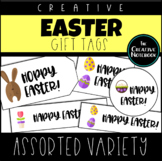 Easter Gift Tags | Assorted | Holiday Gift Tags | Editable Sender