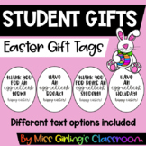 Easter Gift Tags {Black & White}
