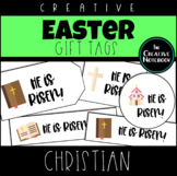Easter Gift Tags | Christian | Religious | Holiday Gift Tags | Editable Sender