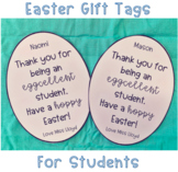 Easter Gift Tags (For Students)