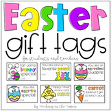Easter Gift Tags for Students (and Colleagues)