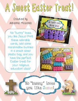 Easter Gift Tags (religious)