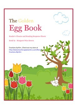 Easter: Golden Egg Book, Reader's Theater, Common Core, Reading Response