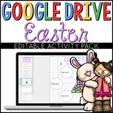 Easter Google Drive Digital Interactive Activity Pack (Editable)