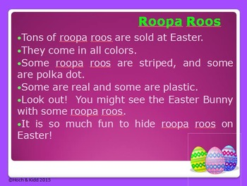 Easter Goosh - Making Inferences & Using Context Clues