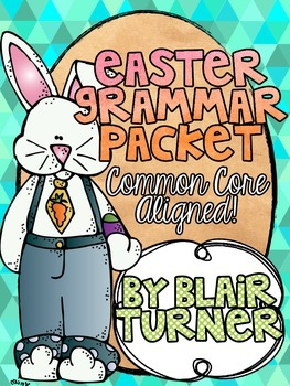 Easter Grammar Packet
