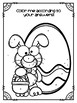 Easter Grammar Review with Coloring Page