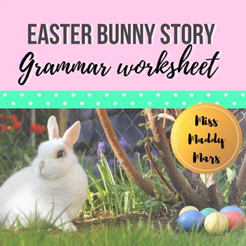 Easter Grammar Worksheet