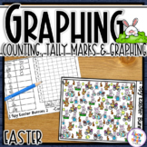 Easter Graphing - I Spy - counting, tally mark & graphing