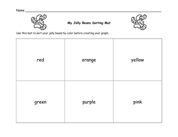 Easter Graphing/ Jelly Beans Graphing
