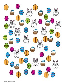 Easter Graphing and tally activity
