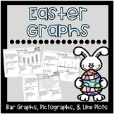 Easter Graphs {Bar Graphs, Pictographs, Line Plots}