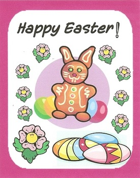 Easter greeting cards for students staff by gardenia in a book easter greeting cards for students staff m4hsunfo