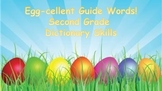 Easter Guide words and Dictionary skills