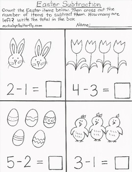 Easter Hand-Drawn Printables!
