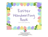 Easter Handwriting Book