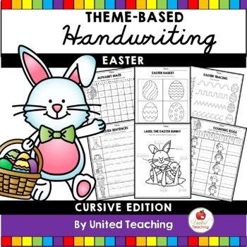 Easter Handwriting Lessons (Cursive Edition)