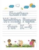 Easter Handwriting Paper