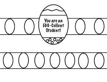 Easter Hat-You are an Egg-cellent Student!