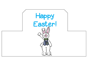 Easter Hat for Students: Hat Template
