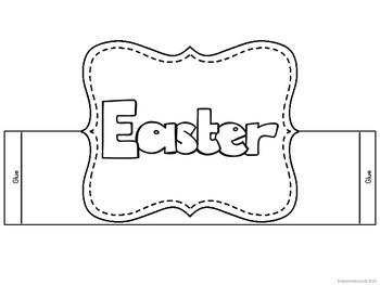 Easter - Headband / booklet