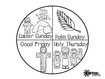 Easter:  Holy Week Activities
