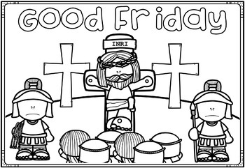 Easter Holy Week Coloring Pages Bible Theme By Ponder And Possible