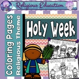 Easter Holy Week Coloring Pages: Bible Theme