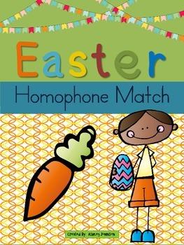Easter Homophone Match