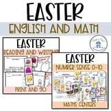 Easter English and Math