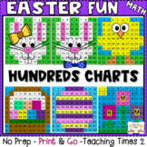 Easter Hundreds Charts | MATH CENTERS | MATH REVIEW