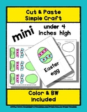 Easter Hunt - Cut & Paste Craft - Mini Craftivity for Pre-