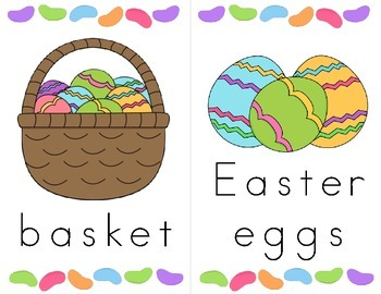 Easter Hunt - Find and Print the Words