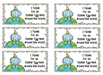Easter Hunt around the World
