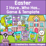 Easter I Have, Who Has Ready-to-Print Game and Editable Template