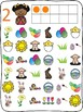 """Easter """"I Spy"""" mats - count to 10"""