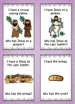 Easter ~ 'I have... who has...' The story of Christ at Easter