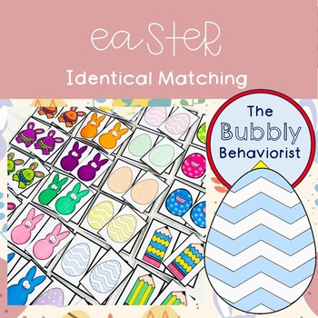 Easter Identical Matching Cards