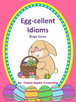 Easter Idioms Bingo Game
