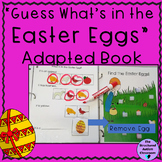 Easter Categories Adapted Book with Inferencing for Autism