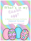 Easter Inferencing Craftivity {Spanish}