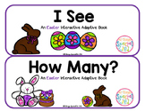 "Easter Interactive Adaptive books - set of 2 (""I See and ""How Many?)"