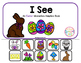 "Easter Interactive Adaptive books - set of 2 (""I See and """