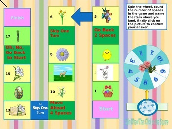 Easter  Interactive Board Game