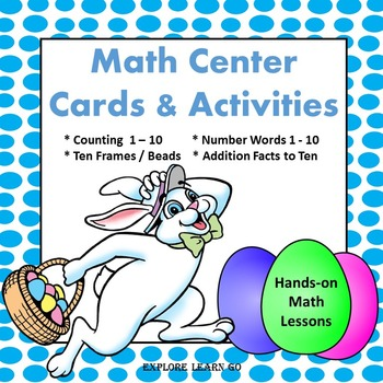 Easter / Spring Interactive Math Center Lessons / Montesso